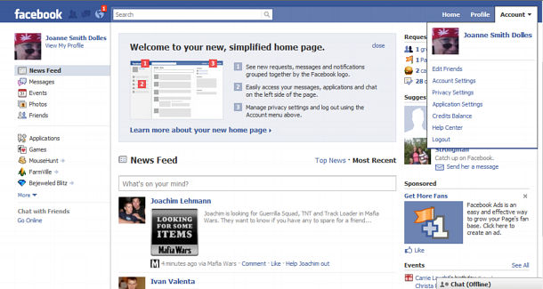 how to quickly leave many facebook groups